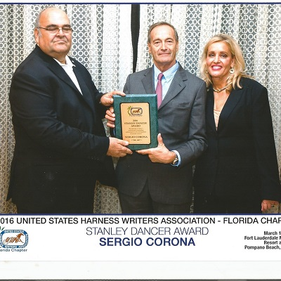 Sergio Corona, Superstar del Trotto in Florida